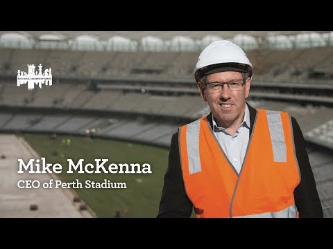 S&L breakfast with Mike McKenna, CEO of Perth Stadium