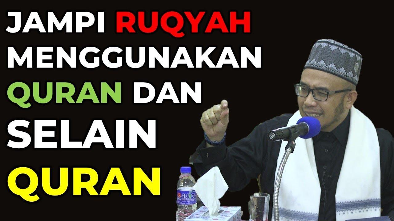 DR MAZA - Jampi Ruqyah Menggunakan Al-Quran Dan Selain Al-Quran