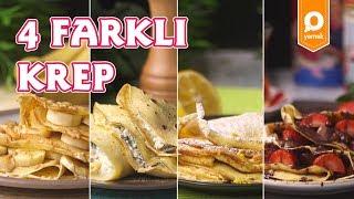4 Farklı Krep Tarifi - Onedio Yemek - Tek Malzeme Çok Tarif