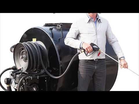 Asphalt Sealcoating Spray System For Driveways And Parking Lots