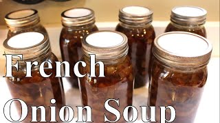 2020 Canning French Onion Soup With Linda's Pantry