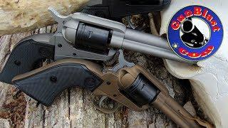 Shooting Ruger's NEW Wrangler 22 LR Single-Action Sixgun - Gunblast.com