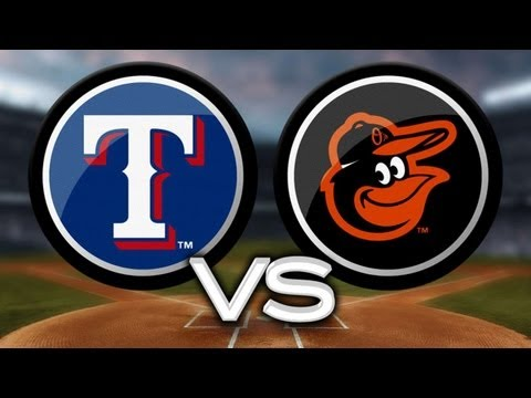 7/8/13: Kinsler's four RBIs leads Rangers past O's