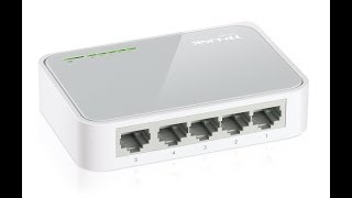 My TP-Link TL-SF1005D 5-Port 10/100Mbps Unmanaged Desktop Switch Review
