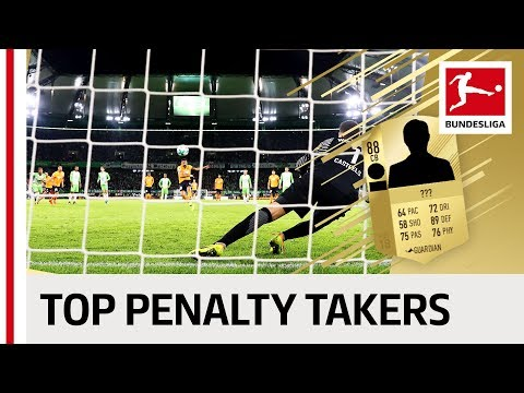 EA SPORTS FIFA 18 – Top 10 Penalty Takers – James, Lewandowski, Reus & More