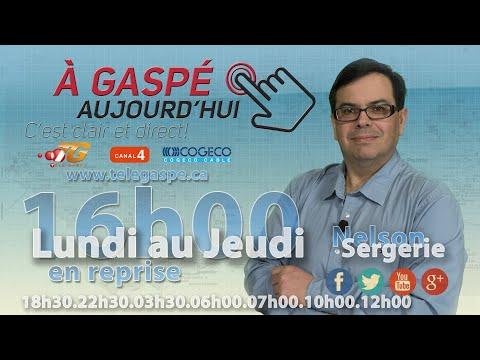 À Gaspé Aujourd'hui  2015-09-14 S02E01