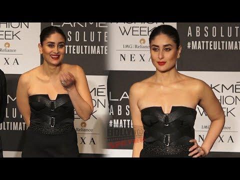 Kareena Kapoor Backstage Interview at Lakme Fashion Week