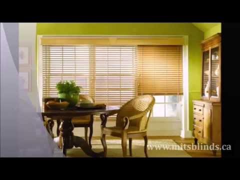 Find Best Wood & Faux Wood Blinds - Made in the Shade Blinds Edmonton