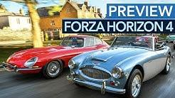 Forza Horizon 4 will endlich auch PC-Spieler überzeugen - Preview