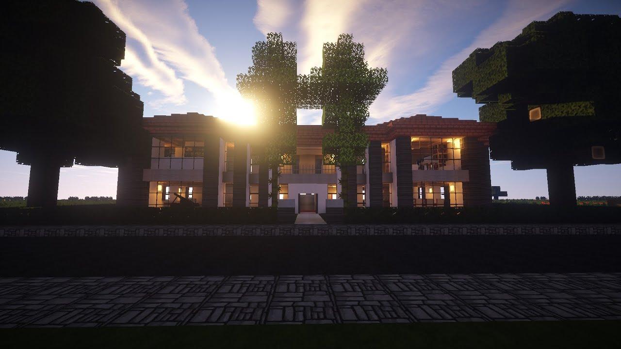 Minecraft House Design - Interior Exterior
