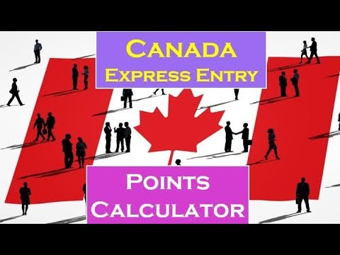 How To Calculate Express Entry Canada Point | Express Entry Point Calculator
