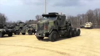 1993 Oshkosh M1070 Commercial Heavy Equipment Transporter on GovLiquidation.com