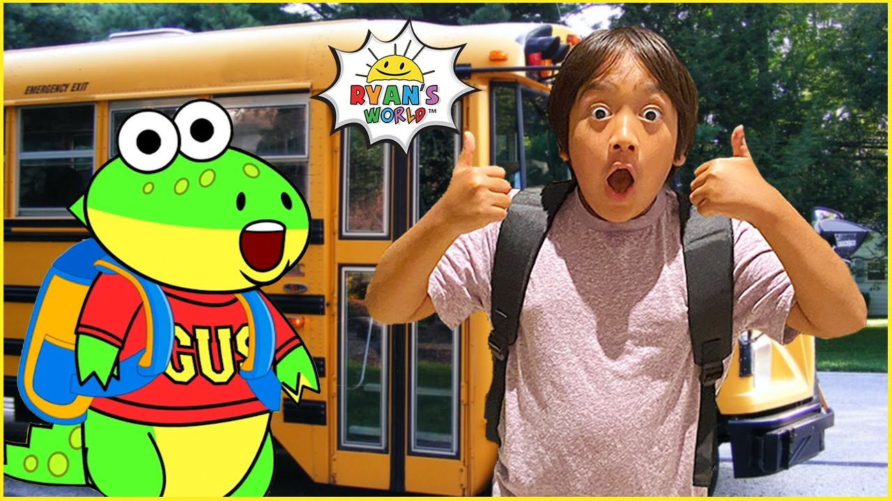 Download Ryan's First Day of School routine help from Gus!