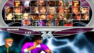 Tekken Tag Tournament - Lei Wulong & Wang Jinrei