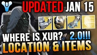 Xur Location Jan 15 2016 Destiny Where is Xur 1/15/16 UPDATED NEW LOCATION