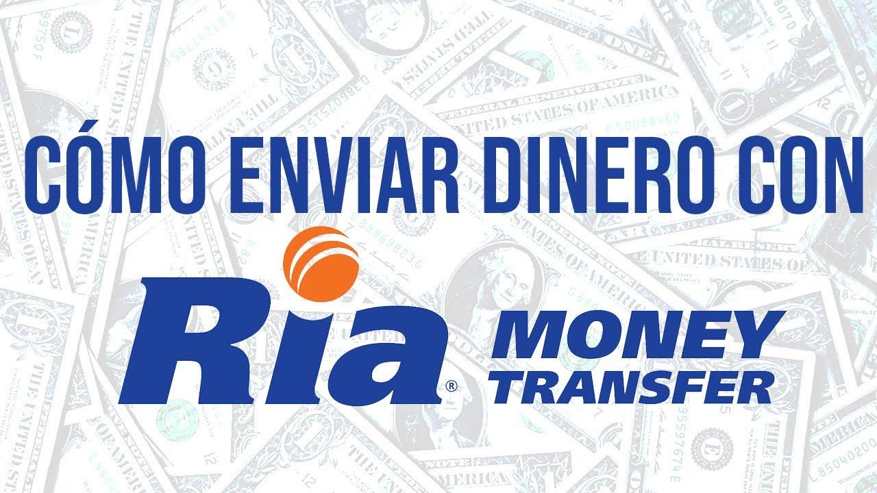 Enviar Dinero Con Ria Money Transfer