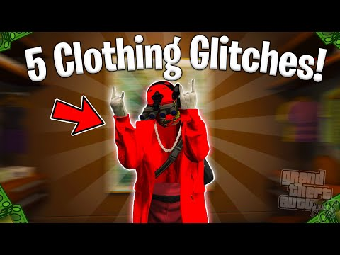 GTA 5 ONLINE TOP 5 CLOTHING GLITCHES WORKING NOW! (Invisible Body Parts,Save CEO Outfits,Joggers)