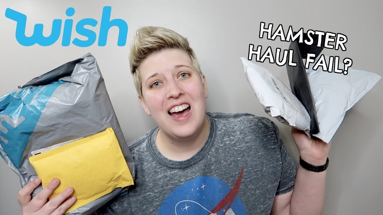 HAMSTER HAUL | UNBOXING HAMSTER TOYS FROM WISH