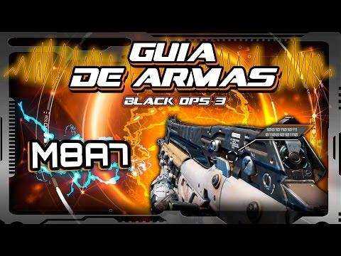 GUIA de ARMAS Black Ops 3 - M8A7 (Rifle competitivo, destrucción profesional)