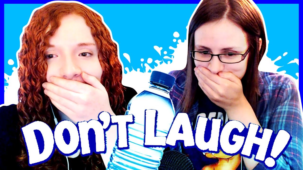 Try Not Laugh Water Challenge