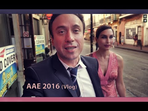 Three Days at the AAE meeting in New Orleans! 2017 Vlog
