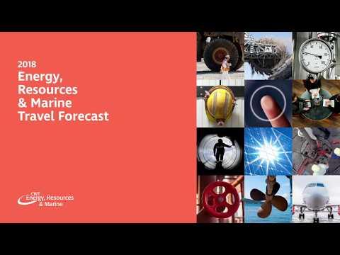 2018 Energy, Resources & Marine Travel Forecast
