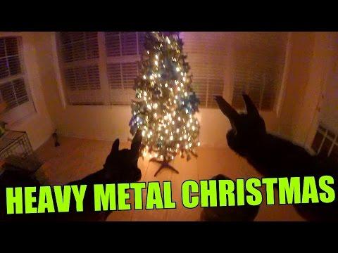 heavy metal christmas youtube. Black Bedroom Furniture Sets. Home Design Ideas