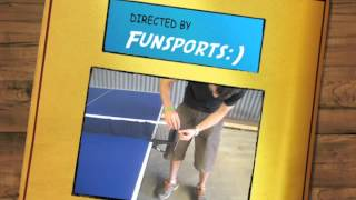 Express Table Tennis Table Net Assembly