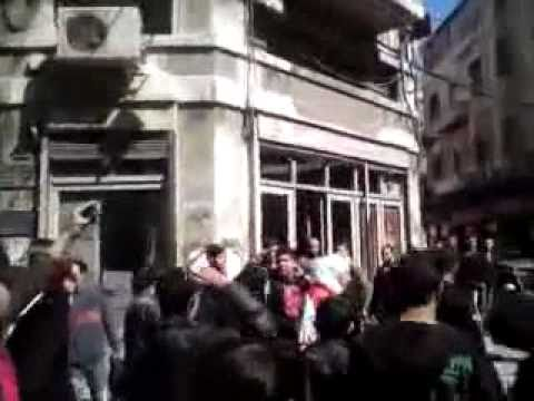 Syrian Revolution Damascus 15 March 2011