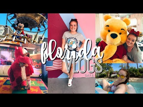 FLORIDA VLOGS! DAY 6 - 12 | VOLCANO BAY, HALLOWEEN & LAST DI