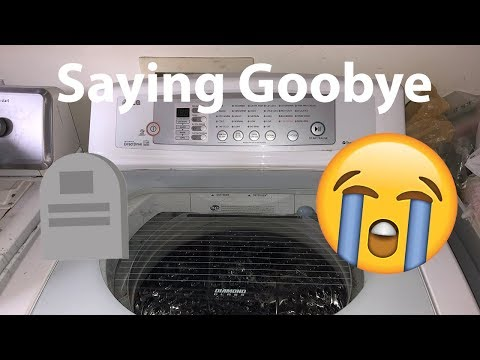 Saying Farewell To My LG Top Load Washer
