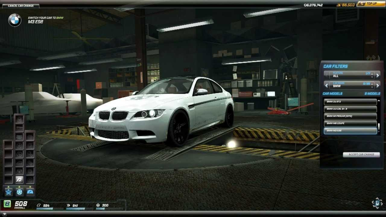 Need for speed world bmw m3 e92 achievement edition daily hunter 10 april update youtube