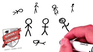 How to Draw a Stick Figure (School of Youtube)