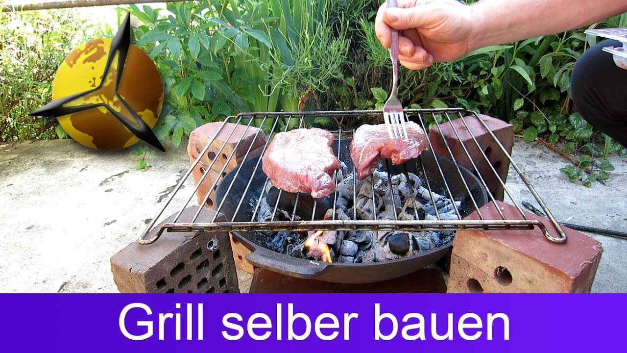 gartengrill grill selber bauen youtube. Black Bedroom Furniture Sets. Home Design Ideas