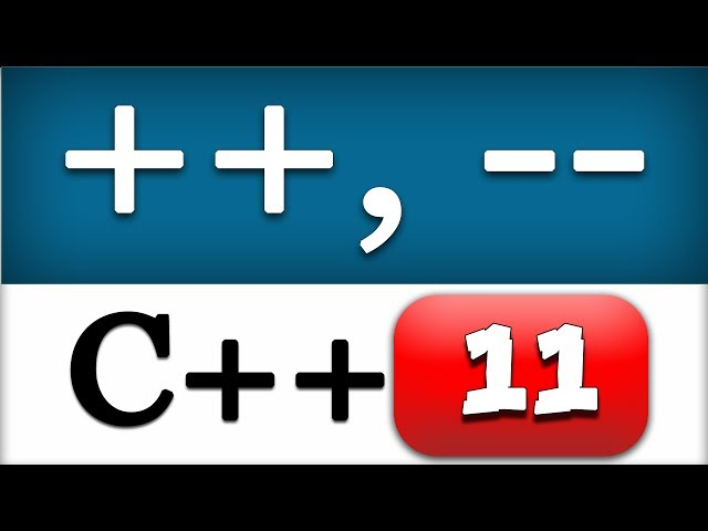 11   C   Increment and Decrement Operators    CPP Programming Video Tutorial - YouTube
