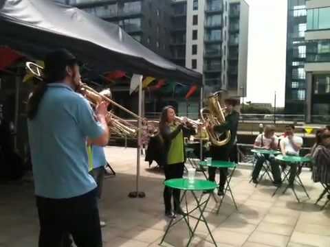 Hosenbrass live at Leeds Waterfront