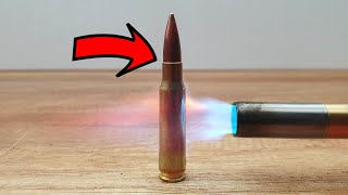 EXPERIMENT Bullet vs Gas torch