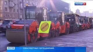 Смотреть видео Автомобиль каршеринга насквозь прошило отбойником на ТТК   Россия 24   YouTube онлайн