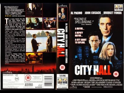 Original VHS Opening: City Hall (1996 UK Rental Tape)