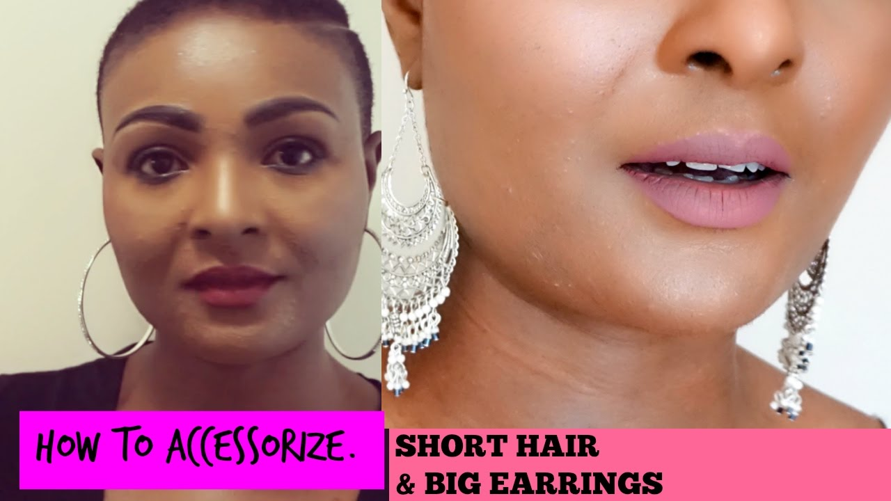 Short Hair And Earrings How To Accessorize Your Look
