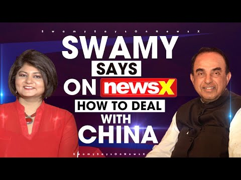 #SwamySaysOnNewsx: How To Deal With China   NewsX