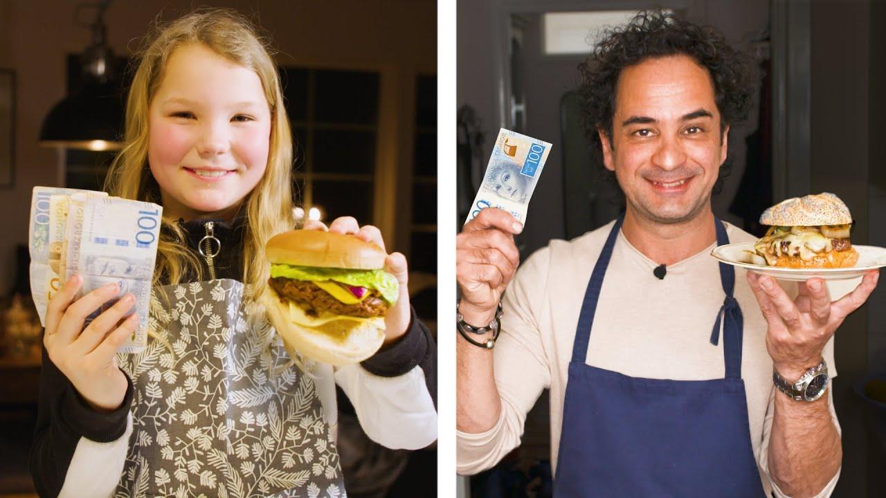 Download Amatör får 10.000, proffs 100 – vem gör godast hamburgare?
