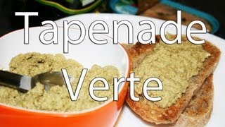 Recette Tapenade Verte, Basilic Et Amandes
