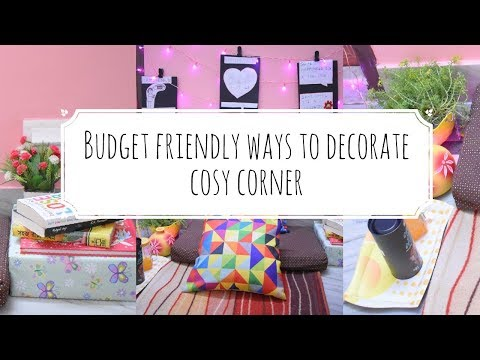 How To Style a Cozy Corner | Indian Home Decor | Inexpensive Budget Friendly Tips