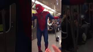 Scooby doo papa el hombre araña  bailando