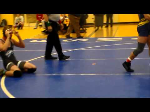 Dan Schmidt Henry Ford College round 1 match