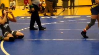 Dan Schmidt Henry Ford College round 1 match