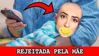REJEITADA PELA MÃE.. no bitlife