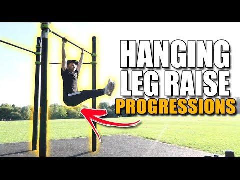 Hanging Leg Raises for BEGINNERS | Progressions | Calisthenics (2019)