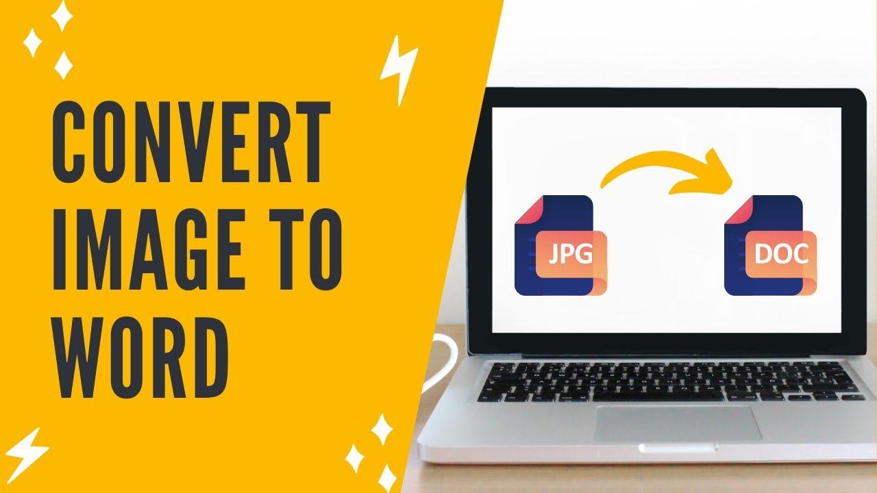 HOW TO CONVERT IMAGE TO WORD DOCUMENT: How To Convert JPG File To MS Word File